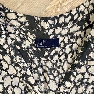 GAP Dresses - GAP Printed Tie Waist Dress Sz 4